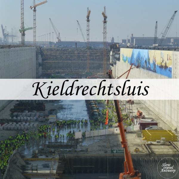 Kieldrechtsluis aan Deurganckdok Antwerpen- titel