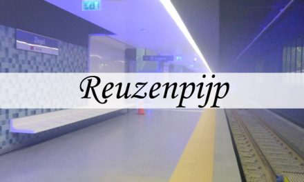 Reuzenpijp – walking through a tram tube