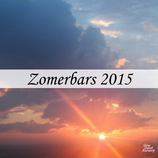 Zomerbars 2015 Antwerpen