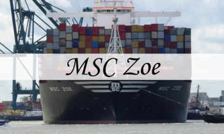 MSC Zoe – the biggest ship in the world visiting Antwerp