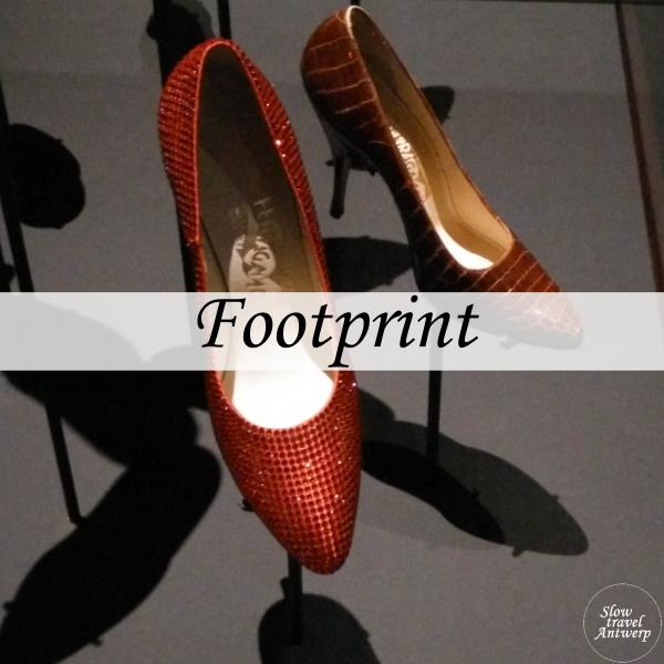 Expo Footprint Modemuseum Antwerpen - titel