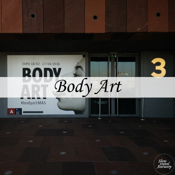 Body Art in het MAS - titel
