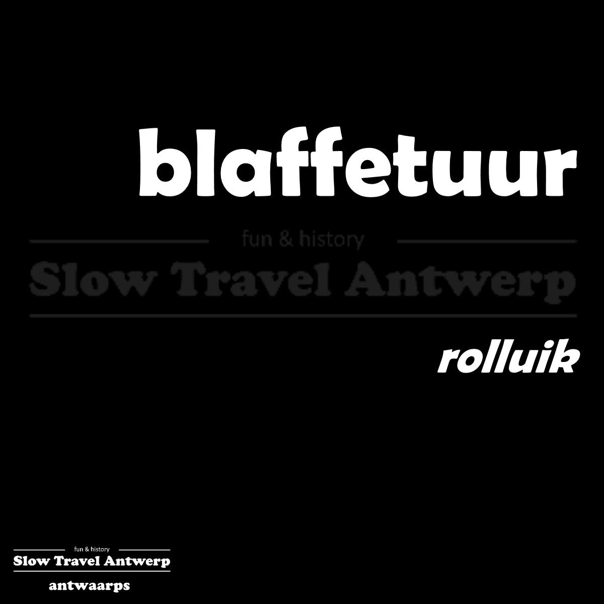 blaffetuur – rolluik – rolling shutter