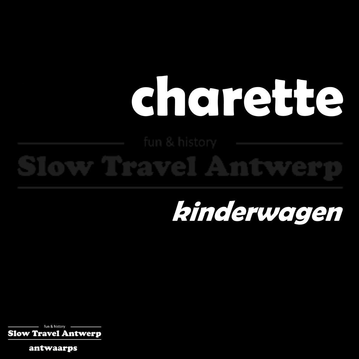 charette – kinderwagen – buggy