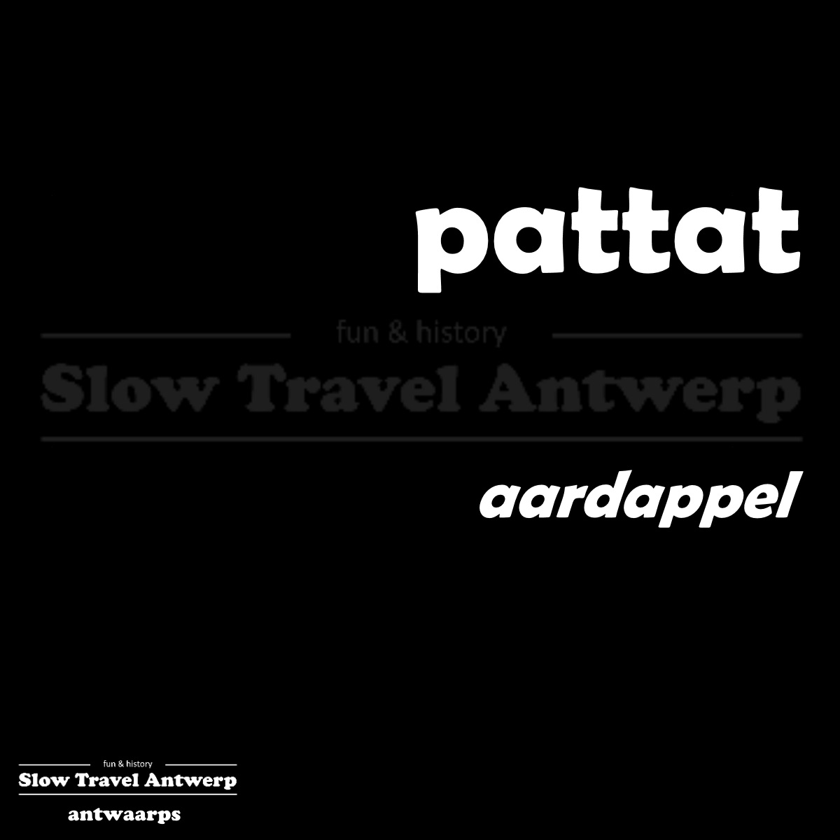 pattat – aardappel – potato