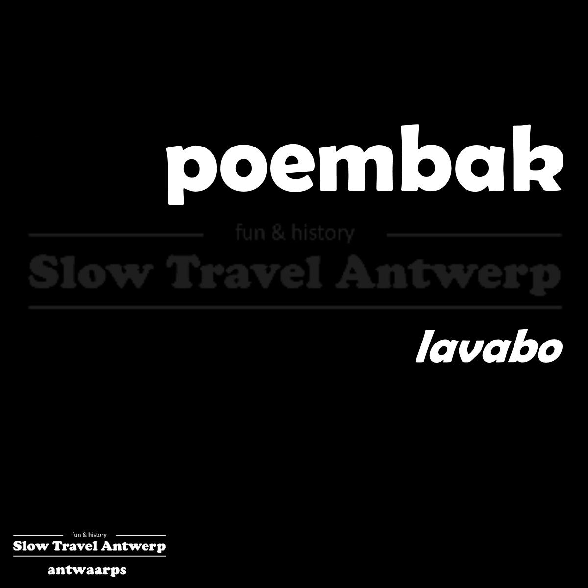 poembak – lavabo – sink