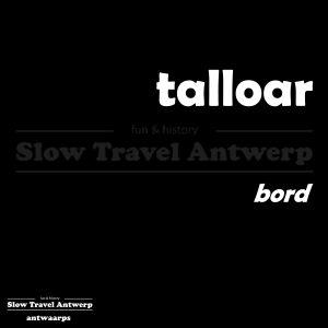 talloar - bord - plate