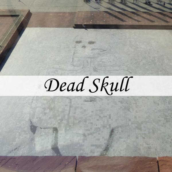 Dead Skull Tuymans - Antwerpen - titel