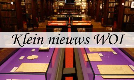Klein nieuws uit de Groote Oorlog – tentoonstelling in de Erfgoedbibliotheek