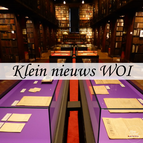 Klein nieuws uit de groote oorlog - erfgoedbiblitoheek - titel