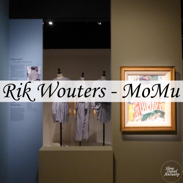 Tentoonstelling Rik Wouters in het Modemuseum Antwerpen - titel