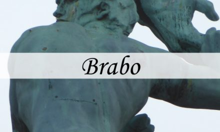 Brabo – fountain on the Grote Markt in Antwerp