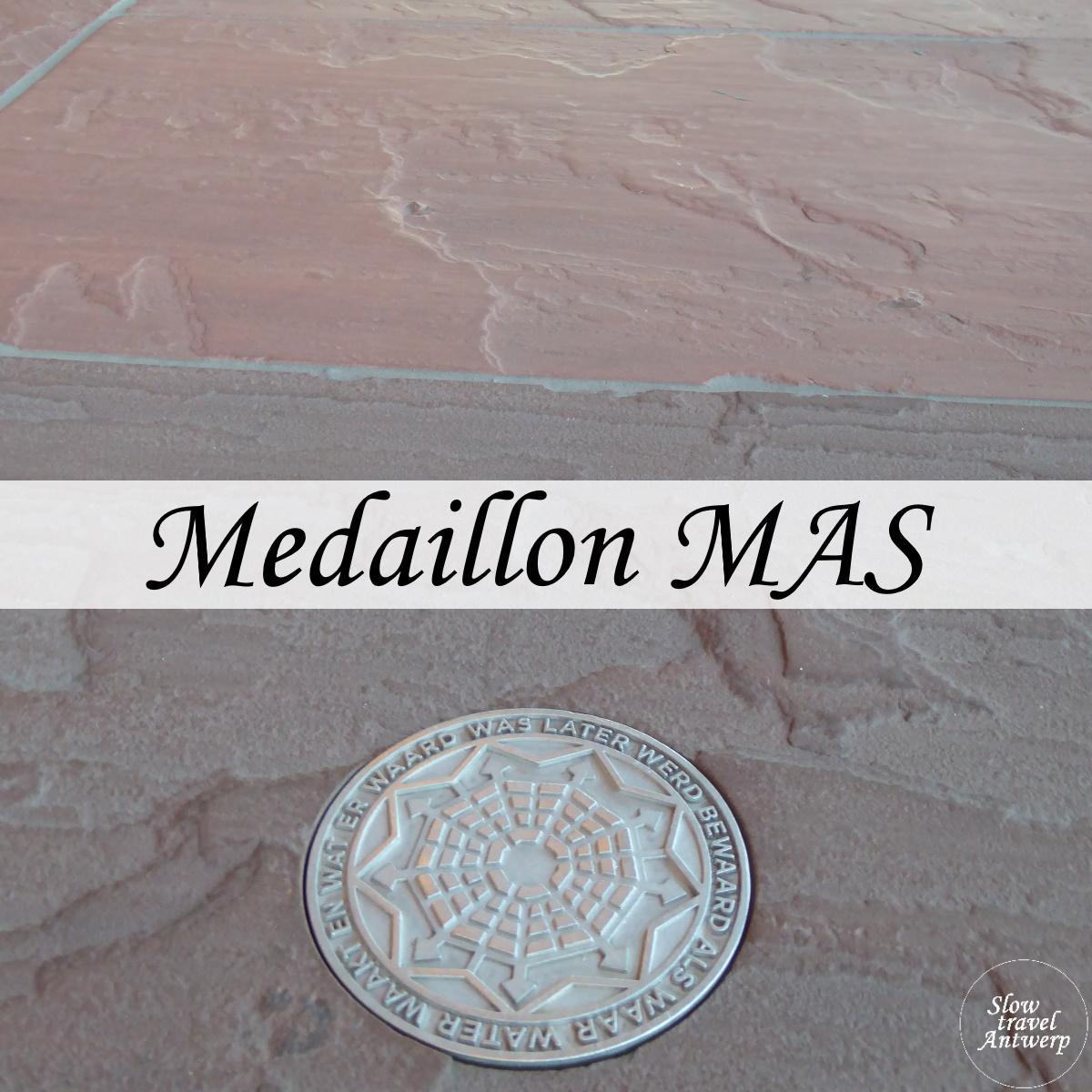 MAS medaillon - titel