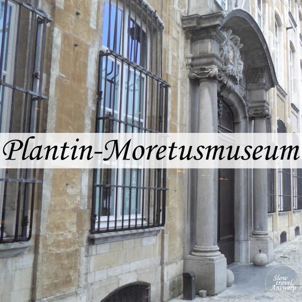Museum Plantin-Moretus Antwerpen - titel
