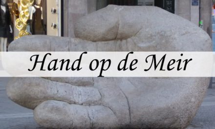 Statue of a Hand on the Meir