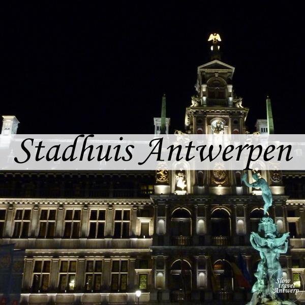 Stadhuis Antwerpen - titel