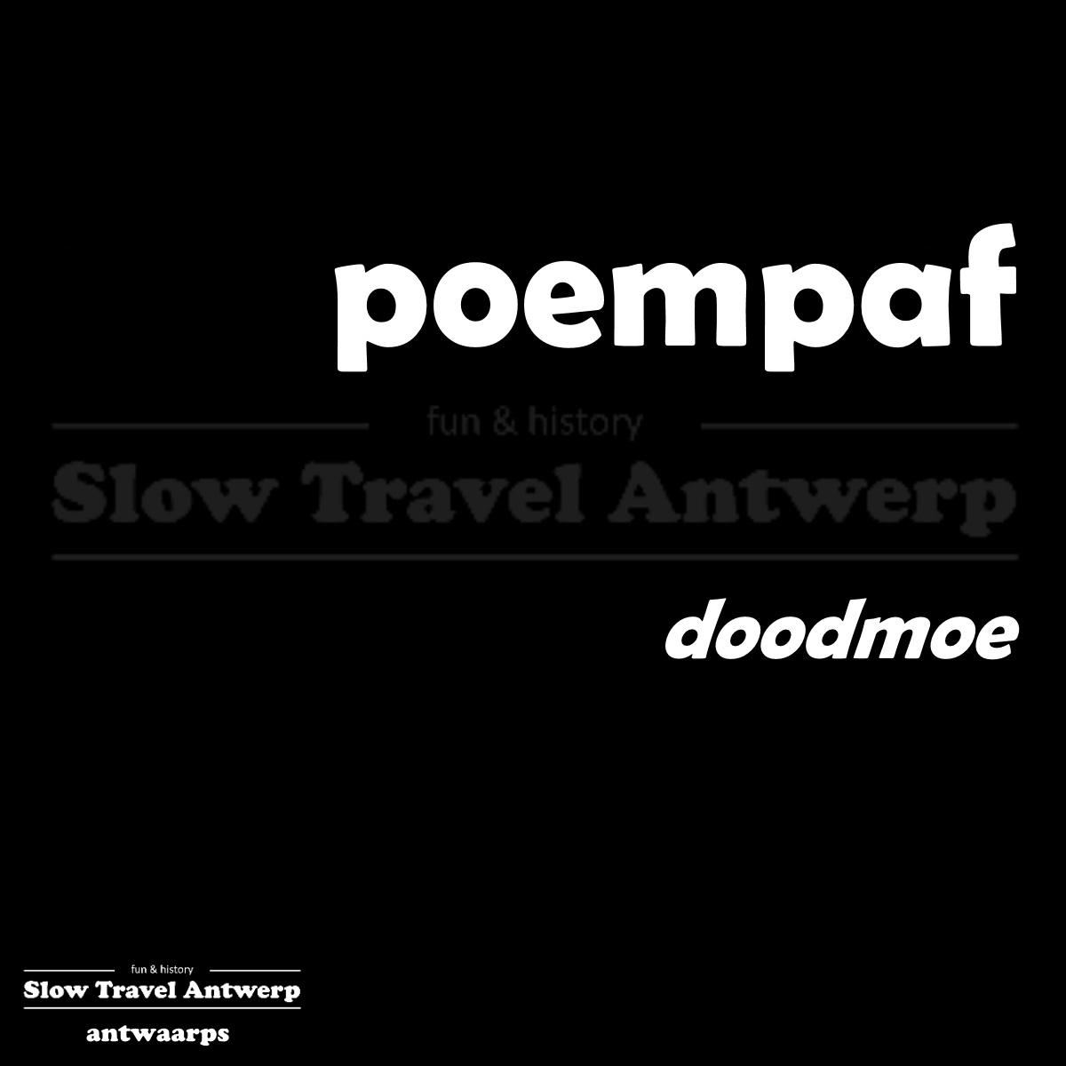 poempaf – doodmoe – dog-tired