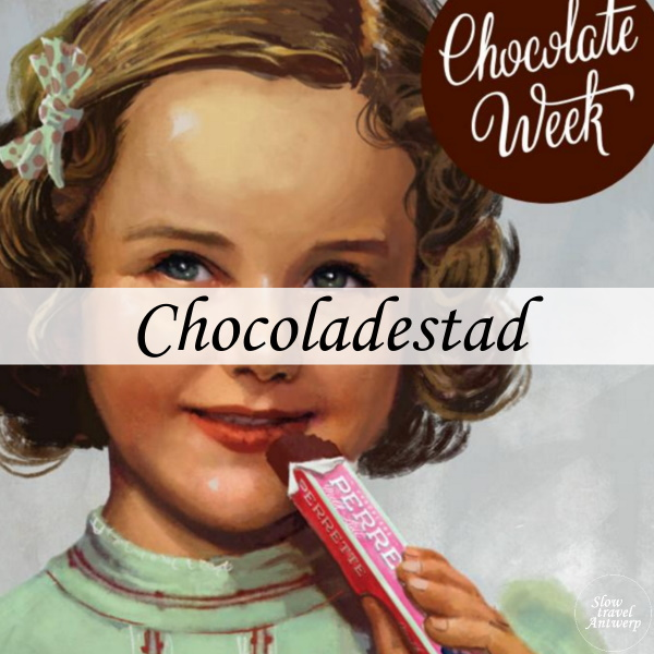 Expo Chocoladestad Chocoladefabriek - titel