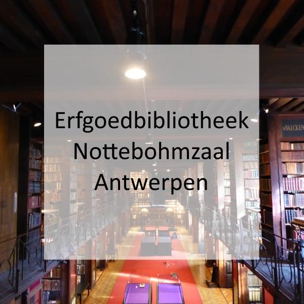 Erfgoedbibliotheek Hendrik Conscience – Nottebohmzaal