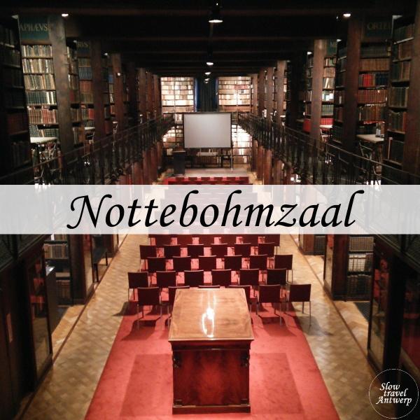 Nottebohmzaal Erfgoedbibliotheek Antwerpen - titel