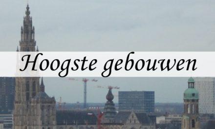 Top 5 hoogste gebouwen van Antwerpen