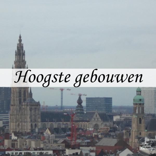 Top 5 hoogste gebouwen Antwerpen - titel