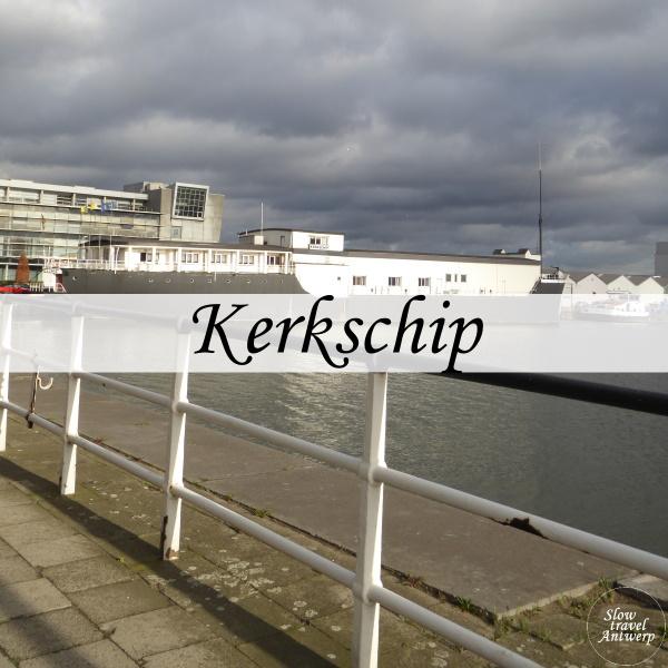 Kerkschip Antwerpen - titel