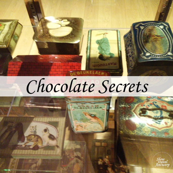 Chocolate Secrets in het MAS Antwerpen - titel