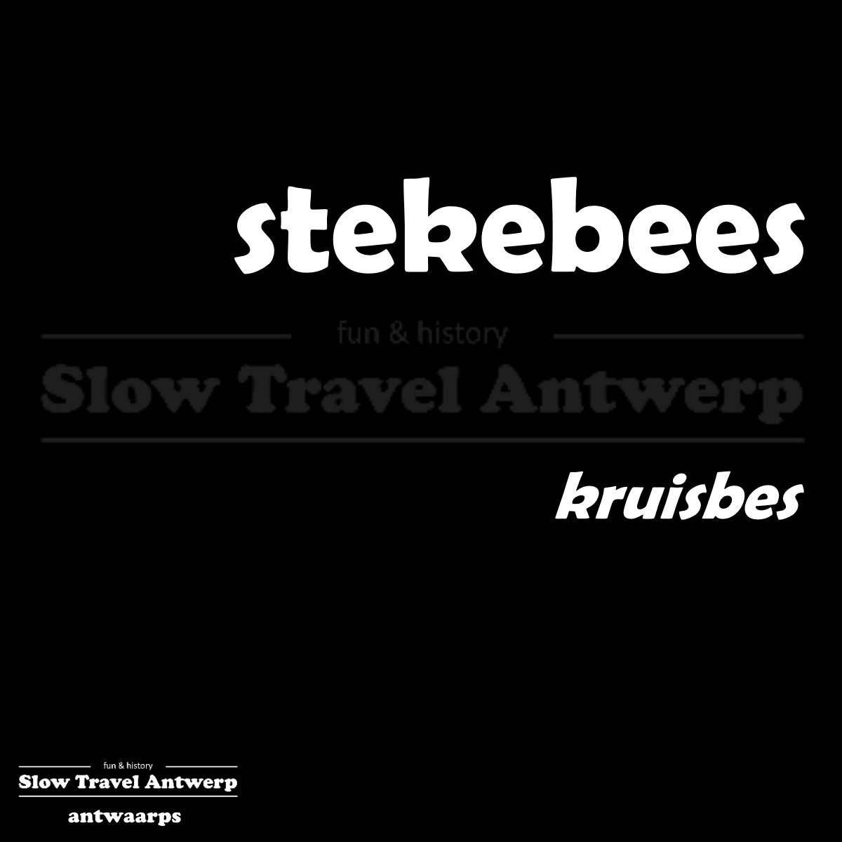 stekebees – kruisbes – gooseberry