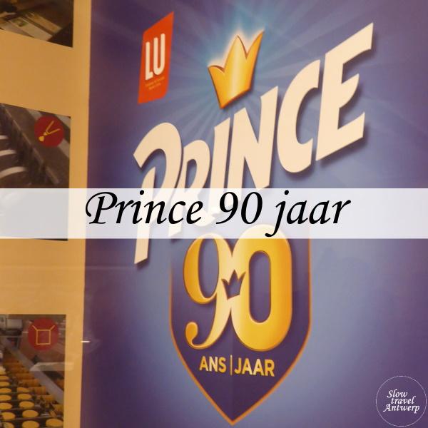 Koekje Prince 90 jaar - titel