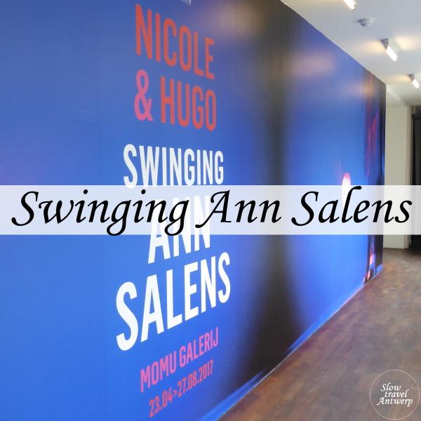 Expo Swining Ann Salens in Modemuseum Antwerpen - titel