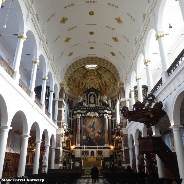 Sint-Carolus Borromeus Antwerpen - interieur