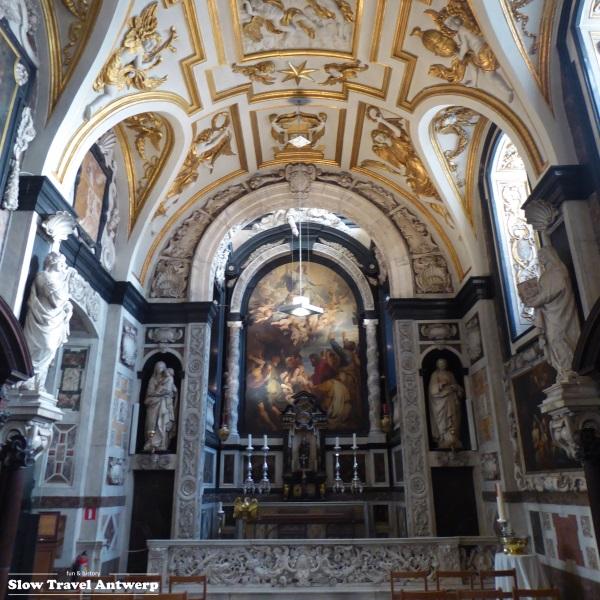 Sint-Carolus Borromeus Antwerpen - Mariakapel