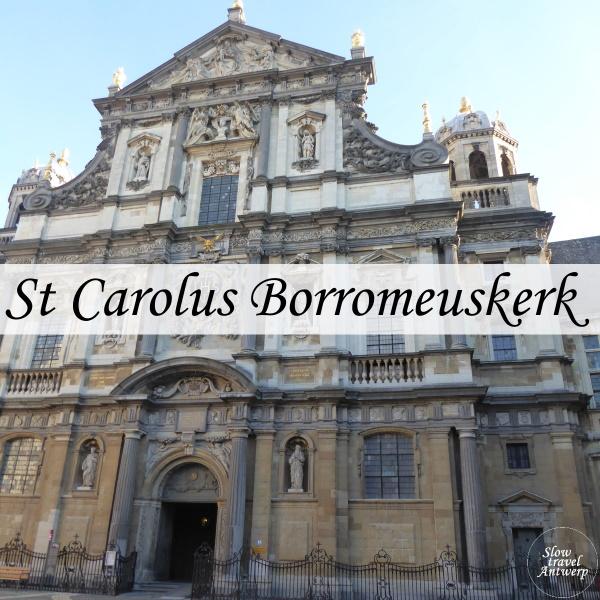 Sint-Carolus Borromeuskerk Antwerpen - titel