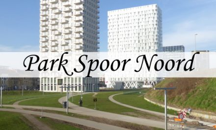 Park Spoor Noord – trains and bikes