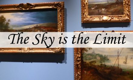 The sky is the limit – tentoonstelling met landschappen