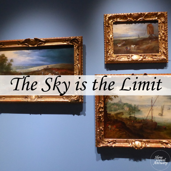 Expo The sky is the limit in het Rockoxhuis Antwerpen - titel