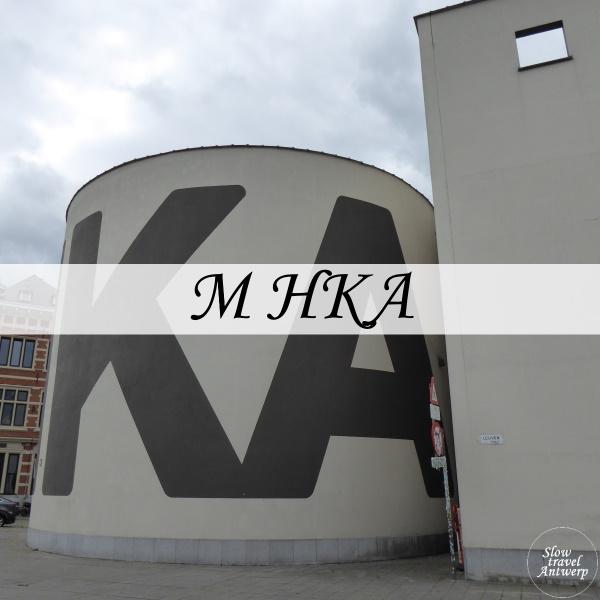 M HKA Antwerpen - titel
