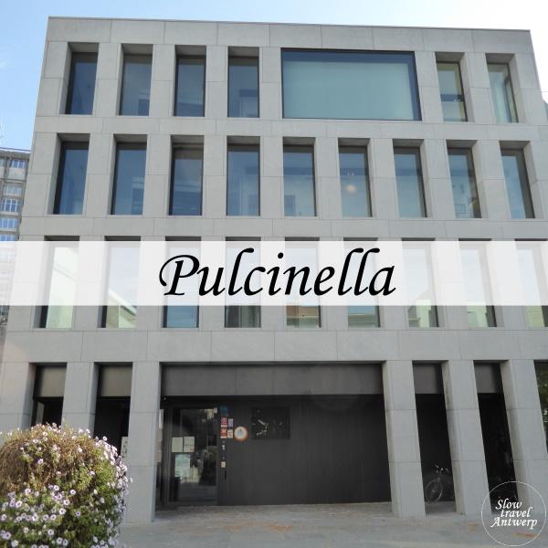 Jeugdherberg Pulcinella Antwerpen - titel