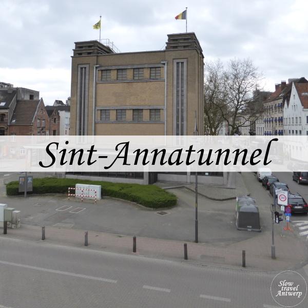 voetgangerstunnel - Sint-Annatunnel - titel