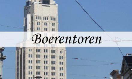 Boerentoren – the first skyscraper in Europe