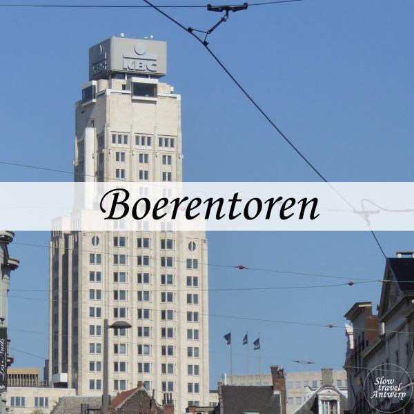 Boerentoren Antwerpen - titel