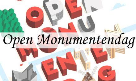 Mijn tips voor Open Monumentendag 2017