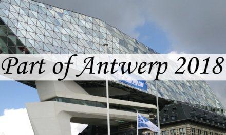 Part of Antwerp 2018 – verjaardagen en street art en zoveel meer