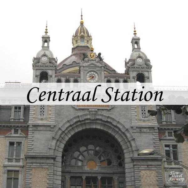 Centraal Station Antwerpen - titel