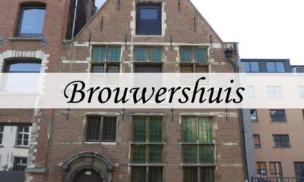 Brouwershuis – water for beer