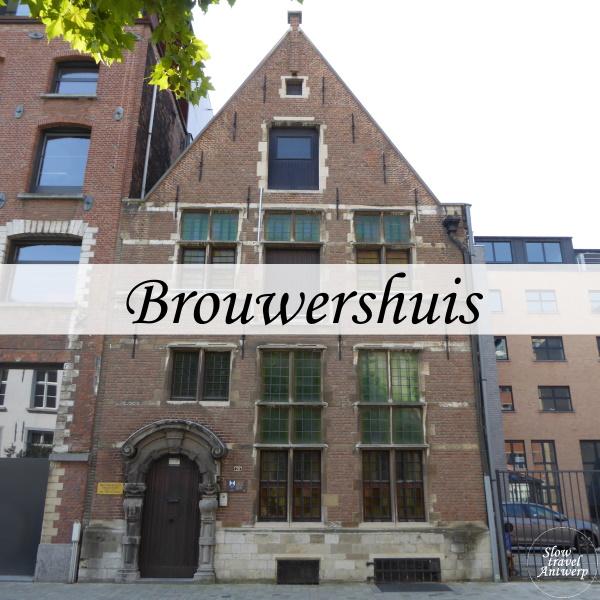 Brouwershuis Antwerpen - titel