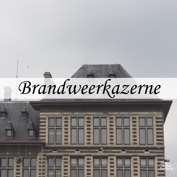 Brandweerkazerne Havenhuis Antwerpen - titel