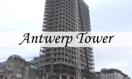Antwerp Tower – van kantoortoren naar woontoren