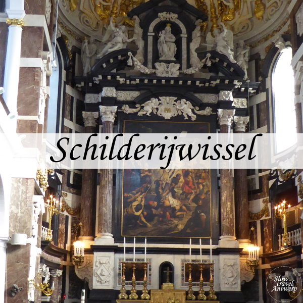 Schilderijwissel Sint-Carolus Borromeus - titel
